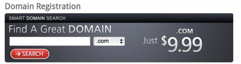 Domain.com Domain Name Registration Plans