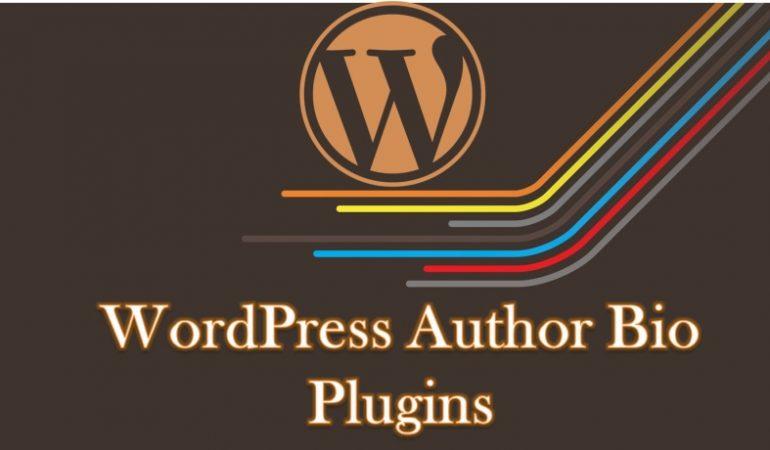WordPress Author bio Plugins blog