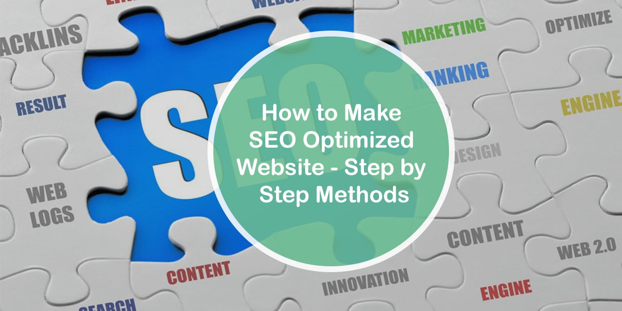 How to Make SEO Optimized Website - Step by Step Methods