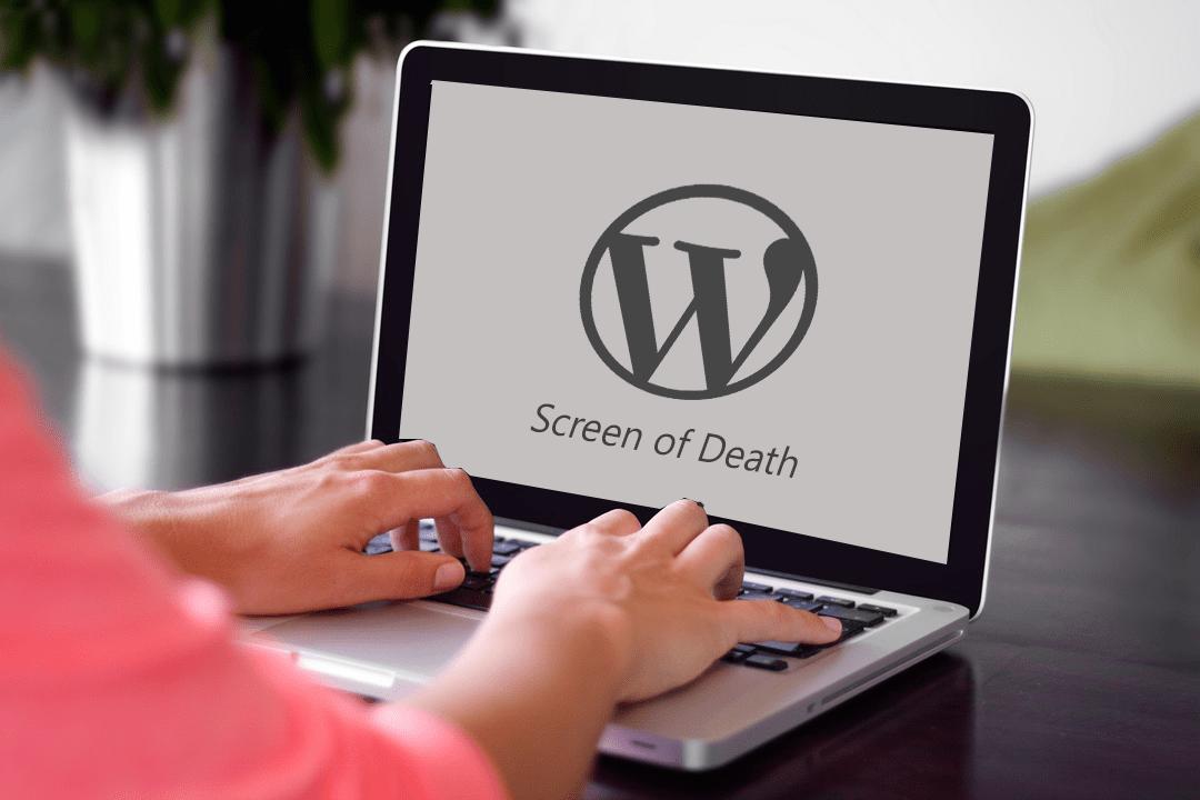 WordPress Screen of Death