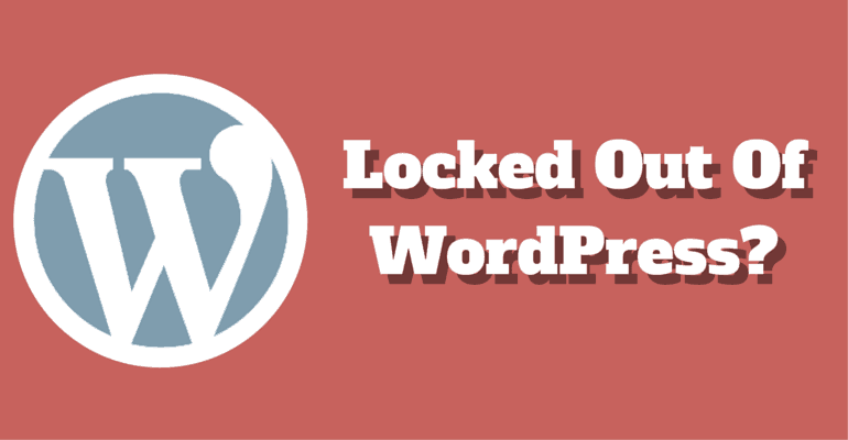 Locked-Out-Of-WordPress