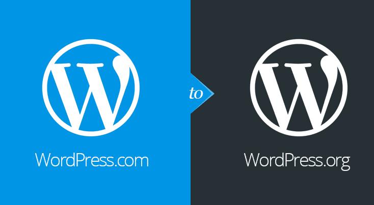 wordpress.com to wordpress.org