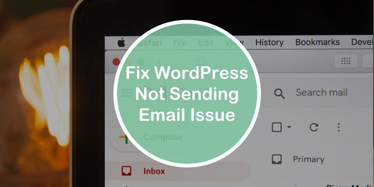 Fix WordPress Not Sending Email Issue