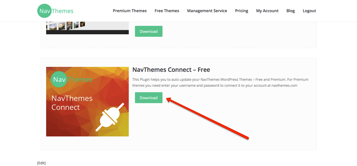Download NavThemes Connect