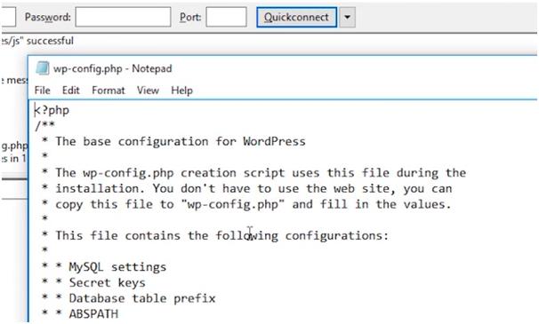 Wordpress configure