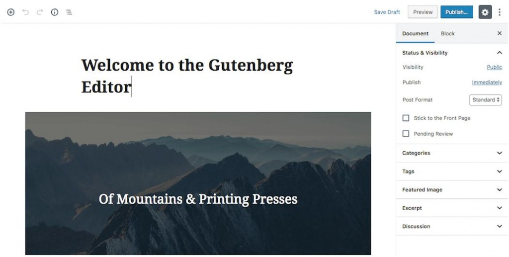 Your Complete WordPress Gutenberg Guide – Explained in Detail 1