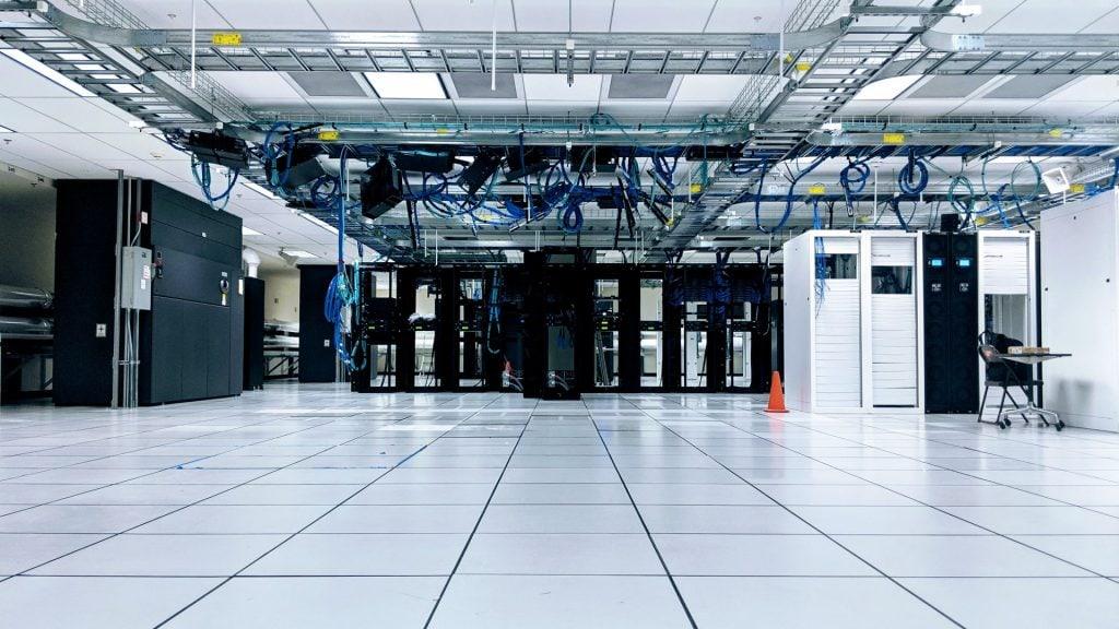 Huge server room
