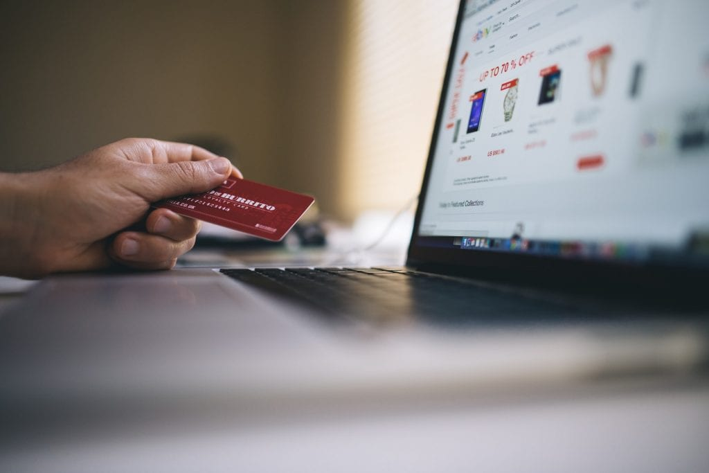 Man browsing eCommerce store