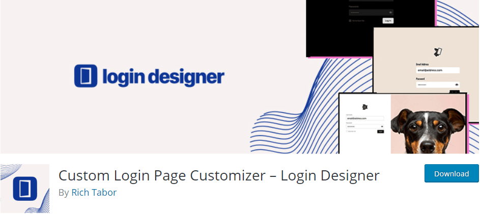 Login Designer by Rich Tabor