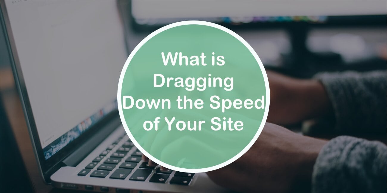 The Easiest Way to Find Out What is Dragging Down the Speed of Your Site