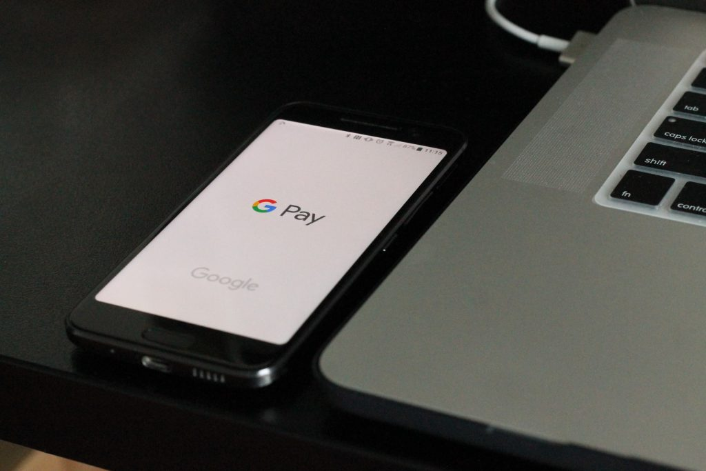 Google Pay on phone