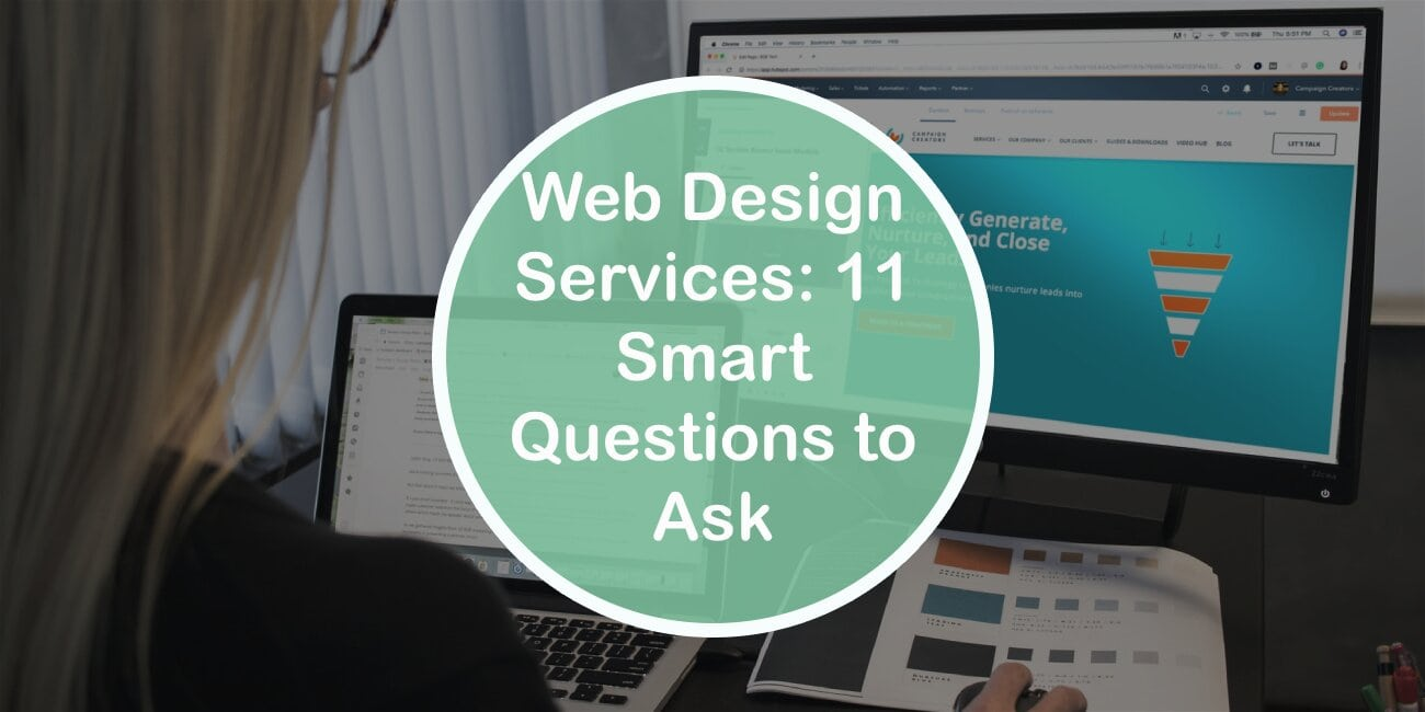 Web Design Services: 11 Smart Questions to Ask