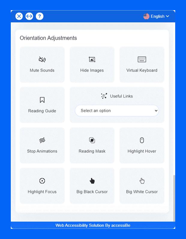Orientation adjustments