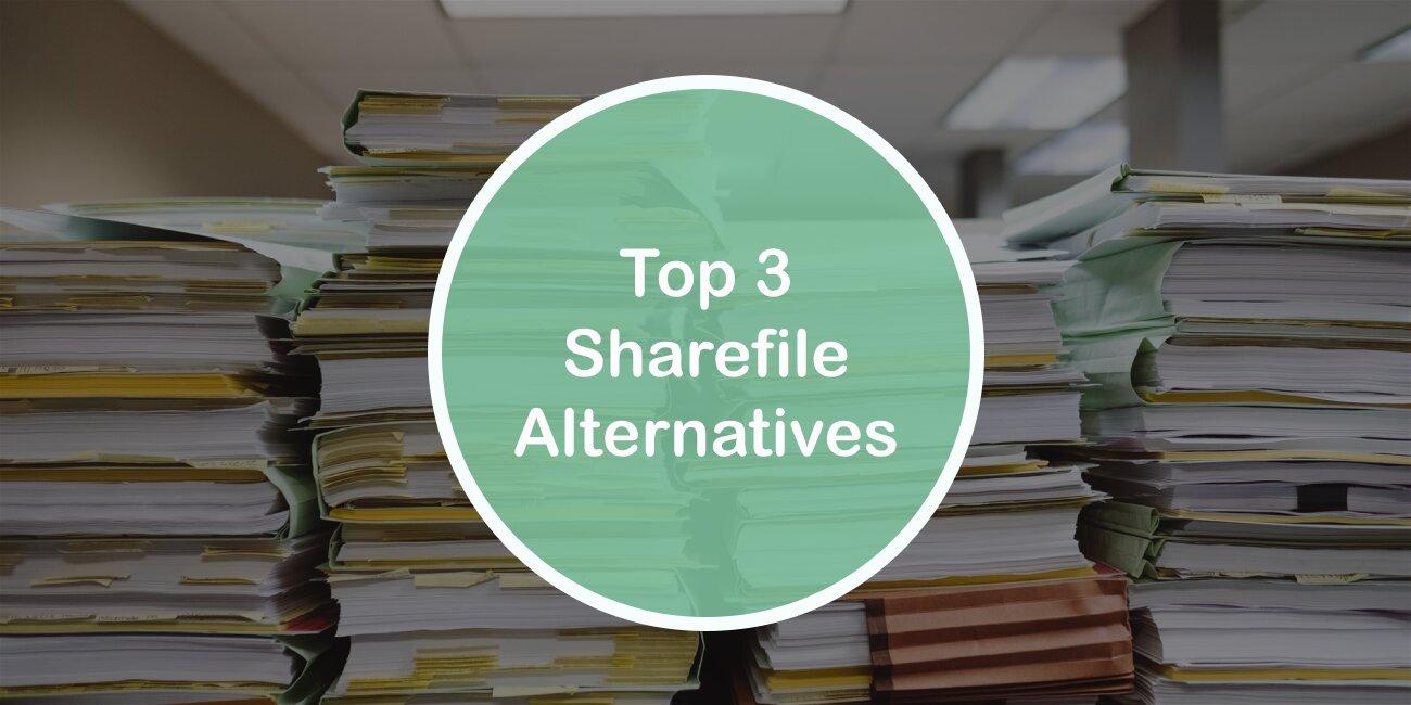 Top 3 Sharefile Alternatives