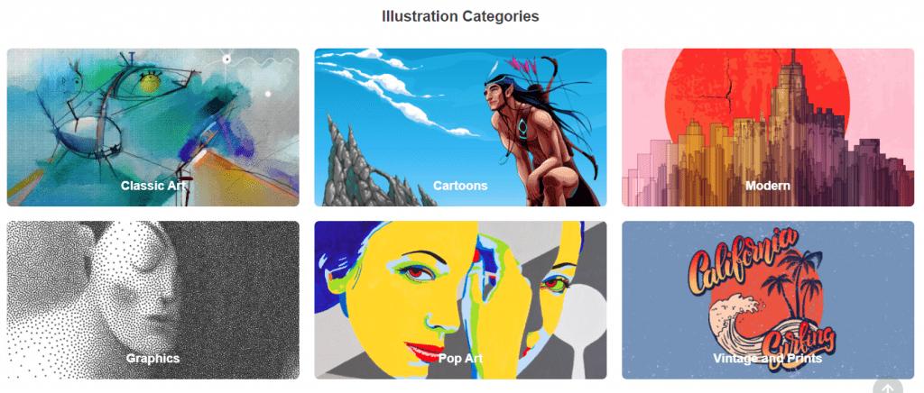 Depositphotos illustrations