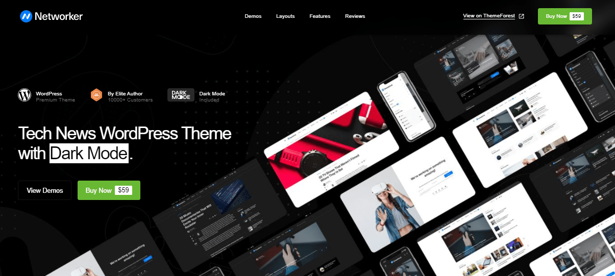 Networker theme
