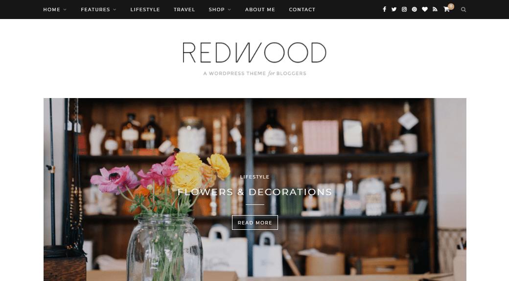 Redwood theme