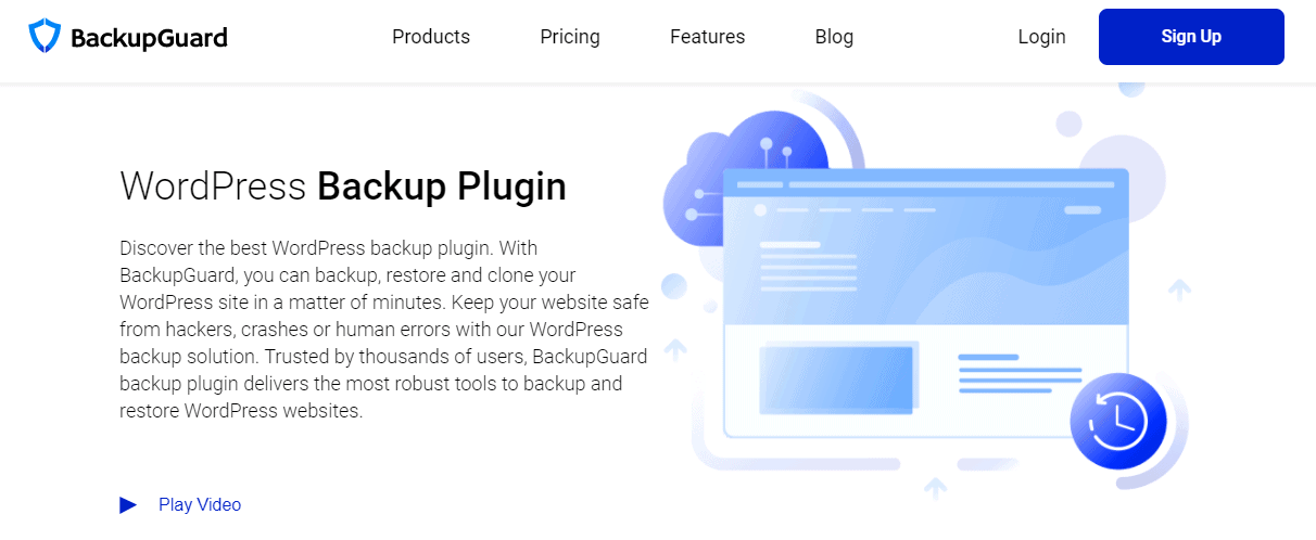 BackupGuard WordPress Plugin