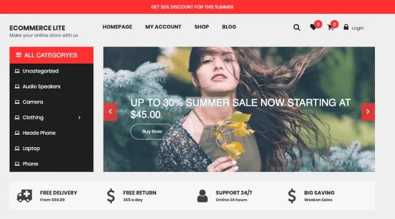 eCommerce Lite theme