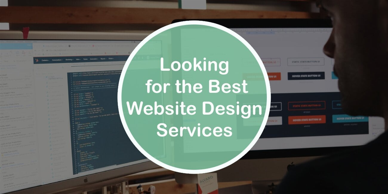 4 Aspects to Consider When Looking for the Best Website Design Services