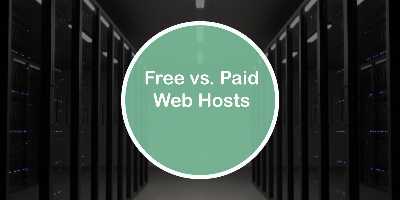 Free vs Paid web hosts