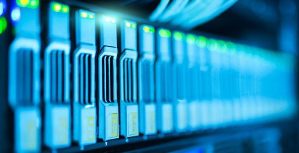 Server closeup