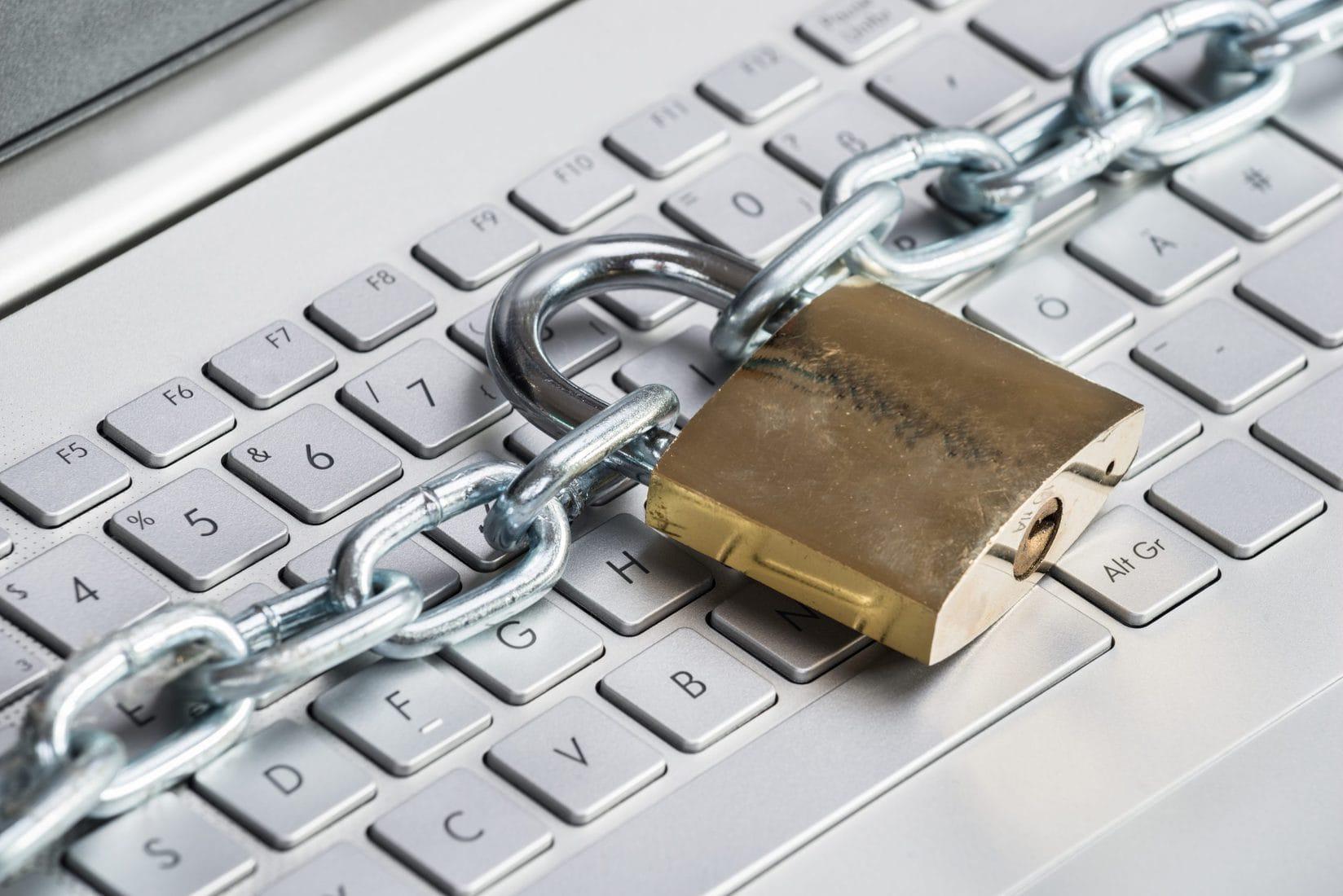 Lock on keyboard