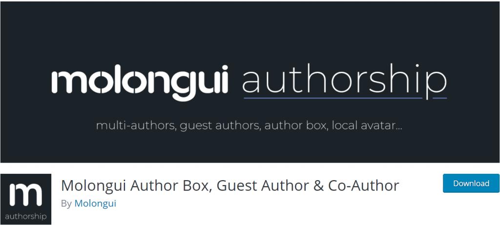 Molongui Author Box banner