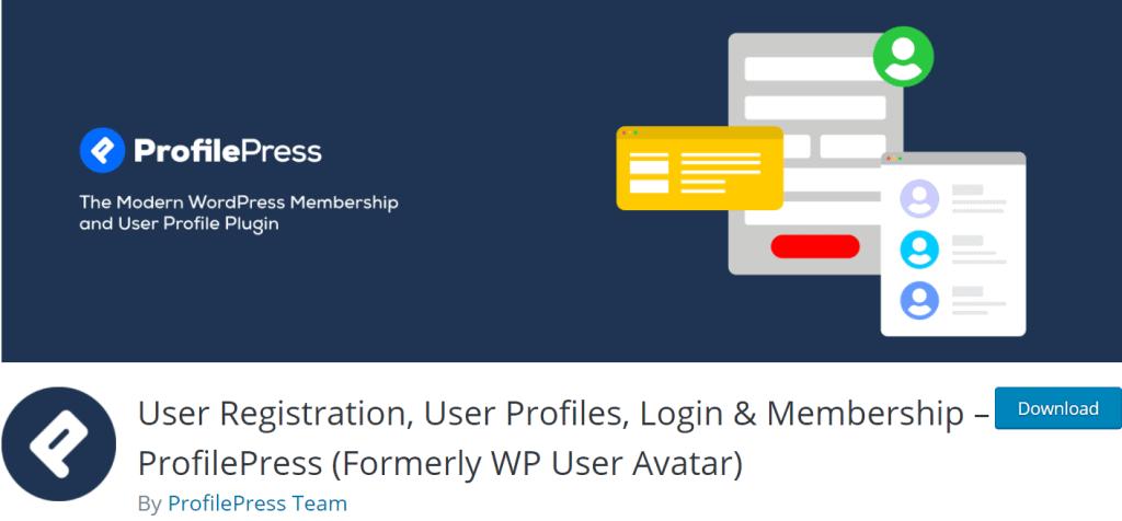 User Registration banner