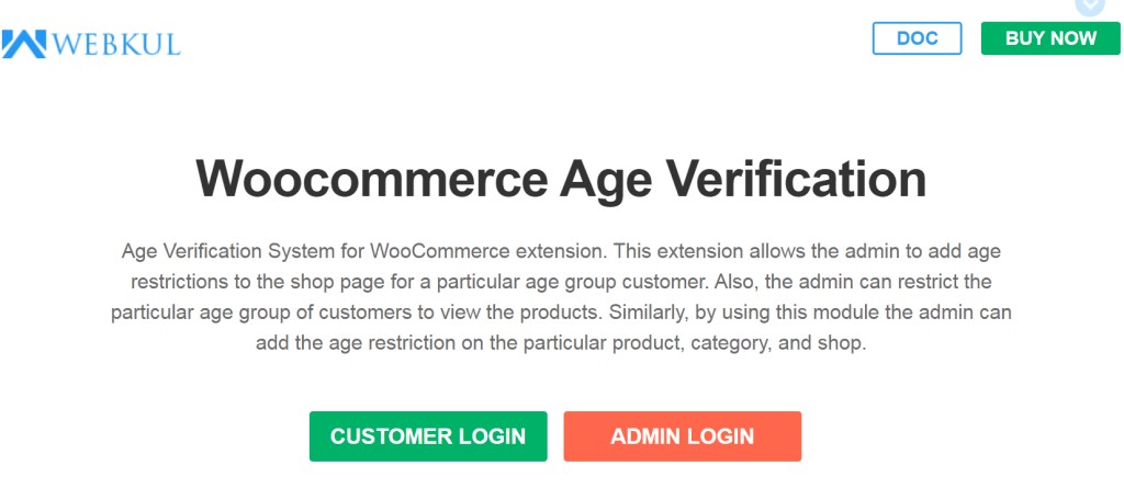 Age Verification System for WooCommerce preview