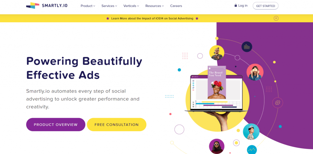 Smartlyio homepage
