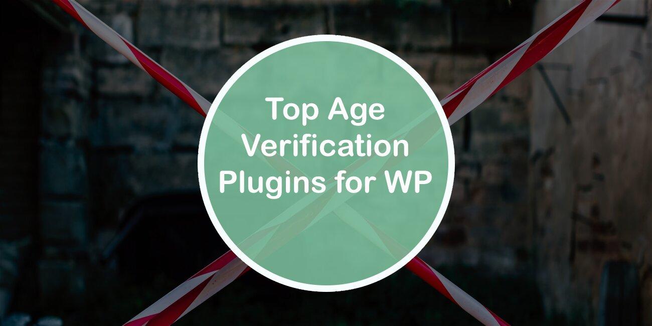 Top Age Verification Plugins for WordPress