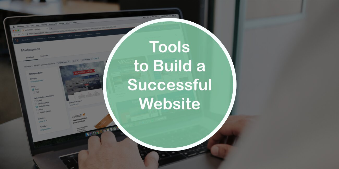 Tools to Build a Successful Website
